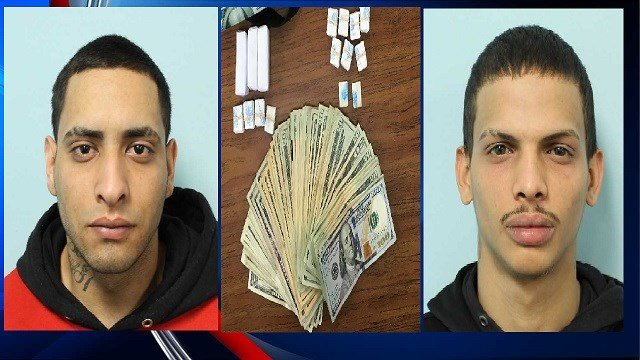 Left: Jahdiel Echevarria Right: Kevin Pagan (Image Courtesy: Springfield PD)