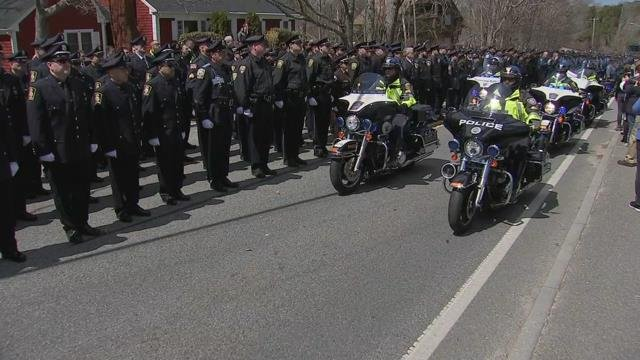 Funeral services set for fallen MA police officer
