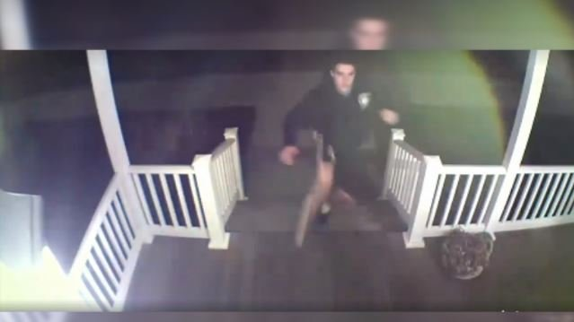 (photos from surveillance video, courtesy Longmeadow Police Department)