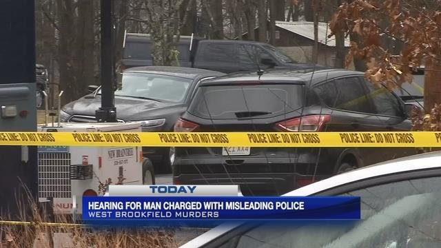 Pre-trial hearing scheduled for man accused of misleading police in West Brookfield murders