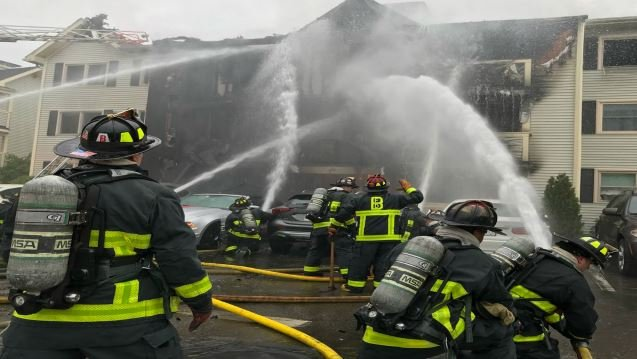 Firefighters out of hospital, investigation continues into Saturday fires in Boston
