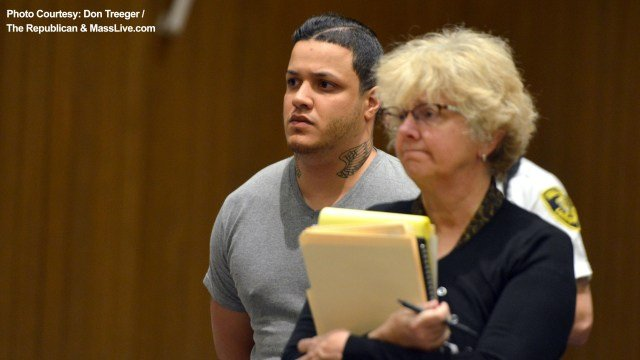 Daniel Cintron appears in court on May 18, 2018 (Photo: Don Treeger / The Republican & MassLive.com)