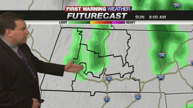 First Warning Meteorologist Don Maher's Sunday Forecast