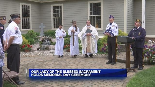 Flag raising ceremony held at Our Lady of the Blessed Sacrament