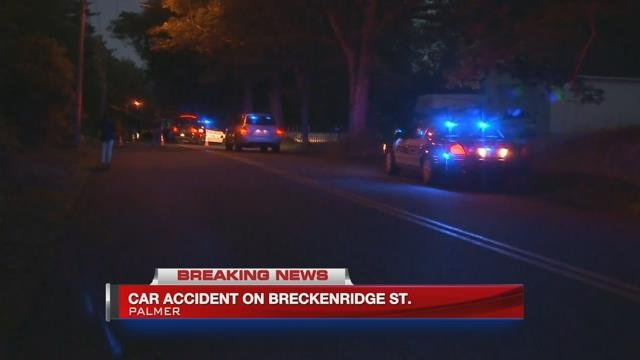 Serious one-car accident closes Breckenridge St. in Palmer