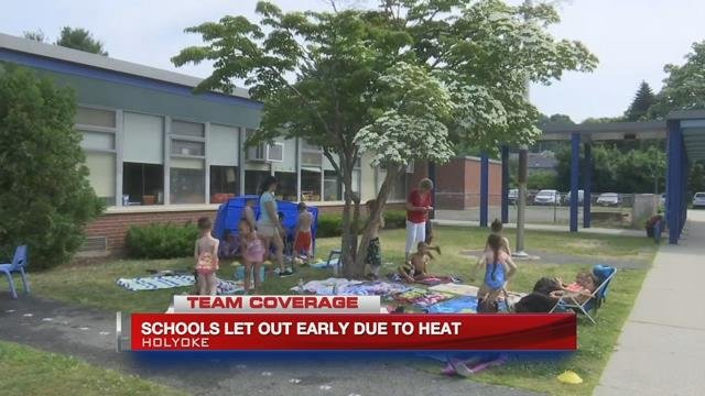 Hot, humid weather prompts early dismissal at Holyoke schools
