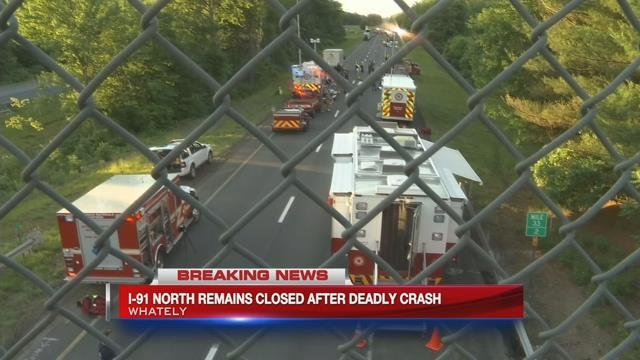 Driver killed in gas tank rollover on I-91 in Whately
