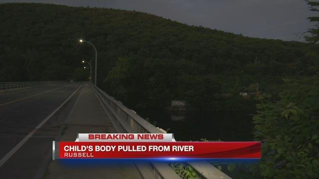 Child's body recovered from river in Russell after apparent drowning