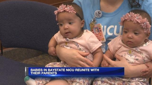 Babies in Baystate NICU reunite with their parents