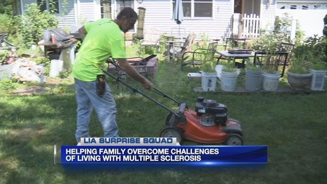 Lia Auto Group helps family overcome challenges of living with MS