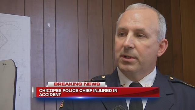 Chicopee police chief injured in motorcycle crash