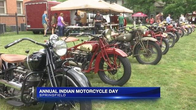 Annual Indian Motorcycle Day held in Springfield