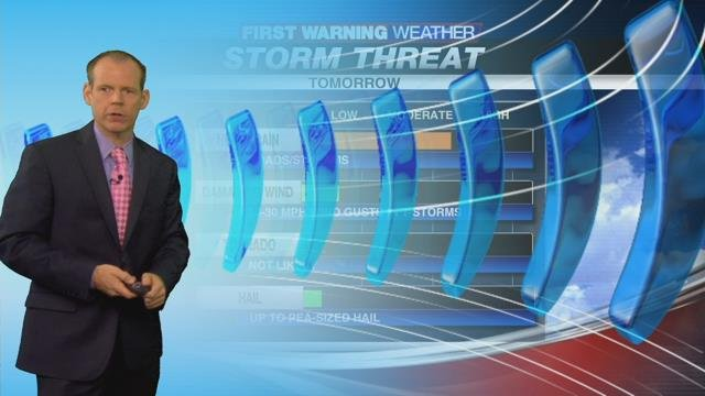 Warm and humid with afternoon showers & storms