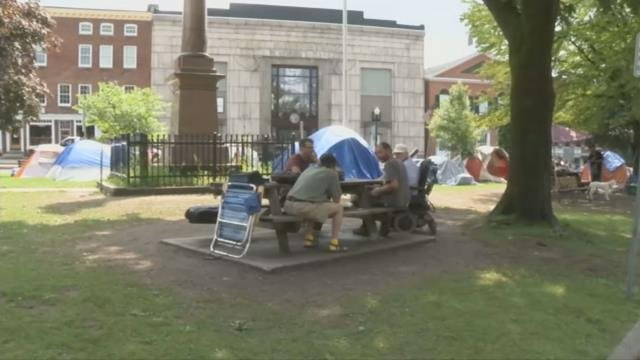Deadline nears for Greenfield homeless camp to clear out