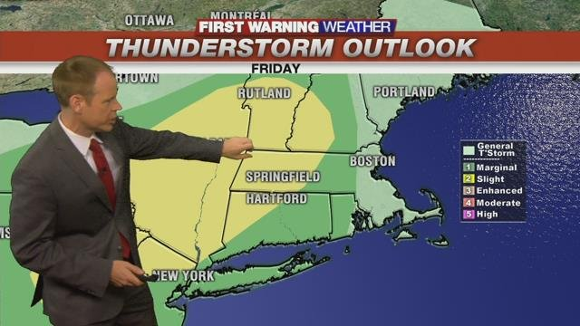 First Warning Weather Day - Storms moving in this Afternoon