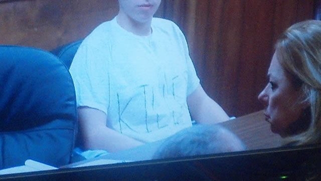 TJ Lane in court