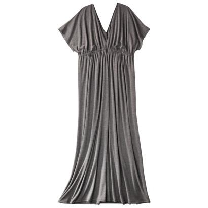 Women's Plus-Size Kimono Gray Maxi Dress (Target.com)