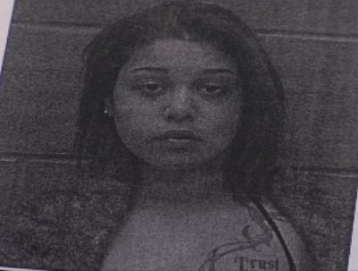 Booking photo of Jailene Diaz-Ramos