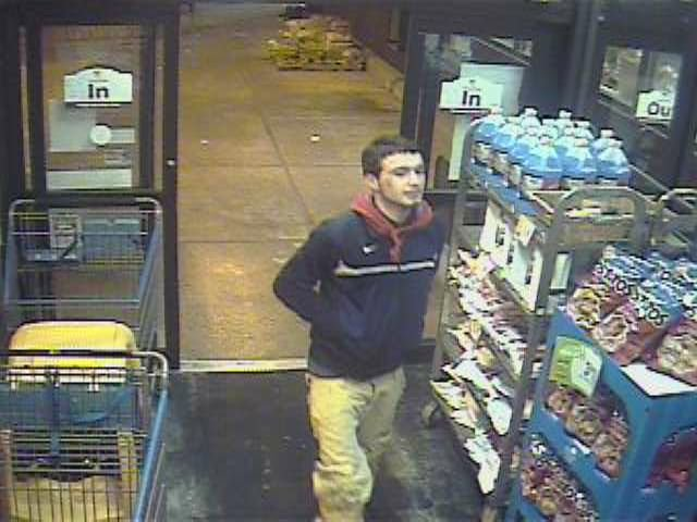 If you know the man in these photos contact the West Springfield Police Department at 413-263-3210.