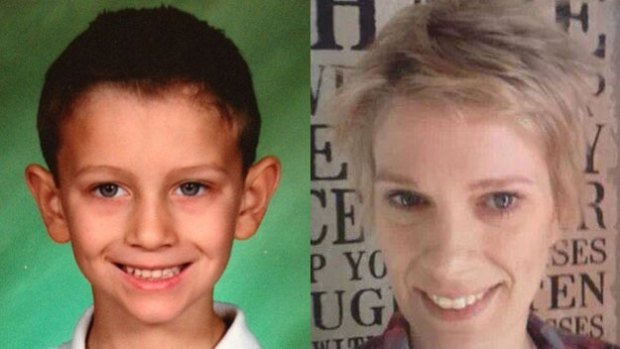 Daniel Britt (left) is believed to have been abducted by his mother, Andria Britt, (right) from Woonsocket, R.I.