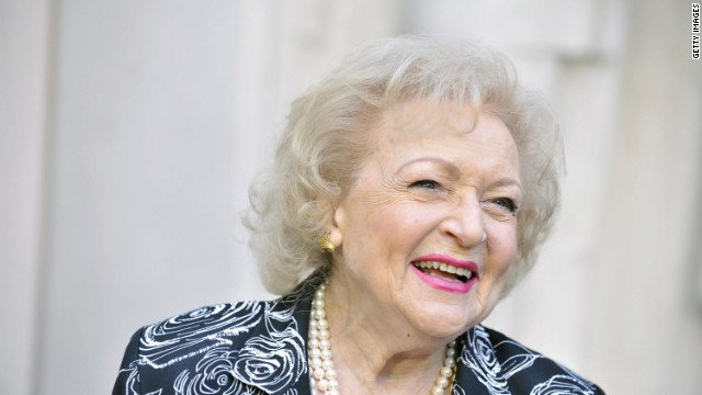 "Betty White continues to work on television and in movies and is popular as ""America's grandmother."""