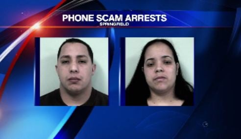 Police charged Jose Carrasquillo, 32, and Jennifer Rodriguez, 30, both of 25 Huntington Street, floor 1, Springfield, with extortion by threat of injury.