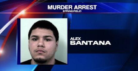 Police say Alex Santana shot William Serrano last Nov.