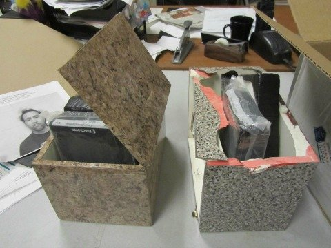 Six kilos of cocaine were seized at the U.S. Post Office on Main Street in Springfield.