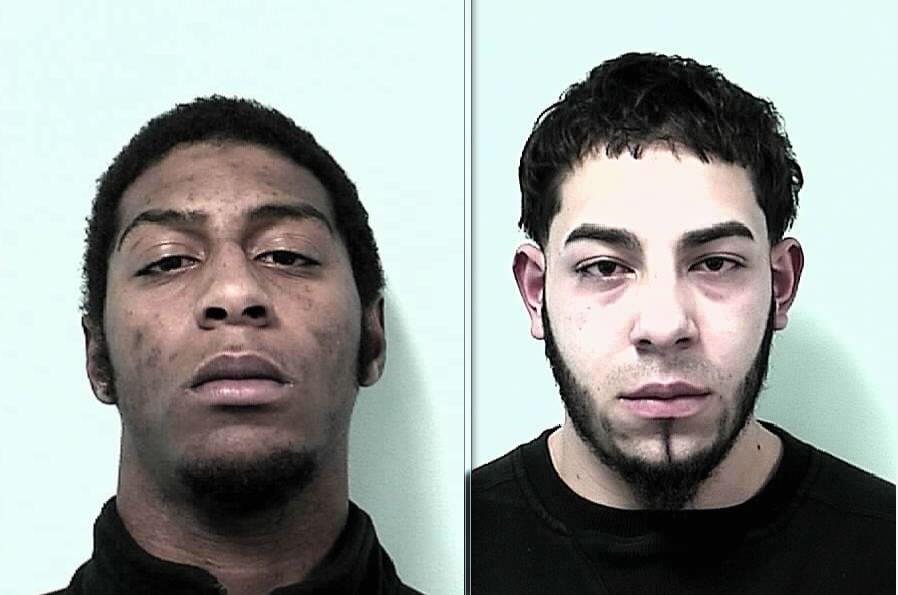 Alexander Cotton, 20, (left) and Juan Sierra, 18 (right).