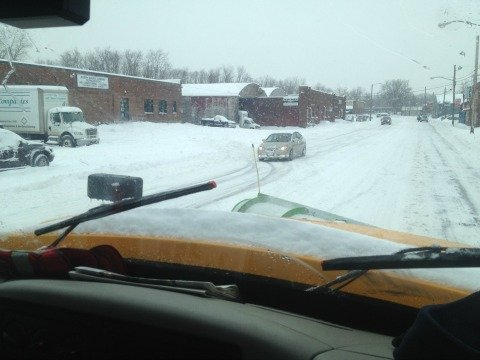 Springfield DPW had all 176 of its plows on the road Wednesday.