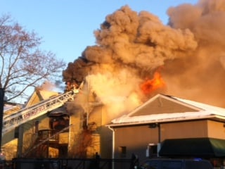 A home on Phoenix Street in Springfield caught fire Monday afternoon.