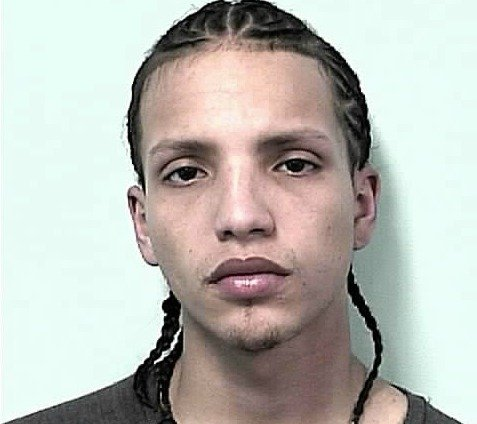 Mug shot of 22-year-old Jean Rivera.