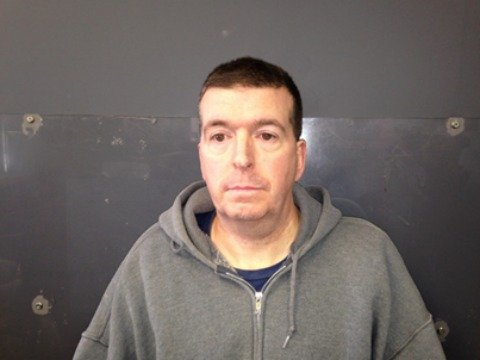 Mug shot of 51-year-old Brimfield resident and level-three sex offender Daniel Burnett.