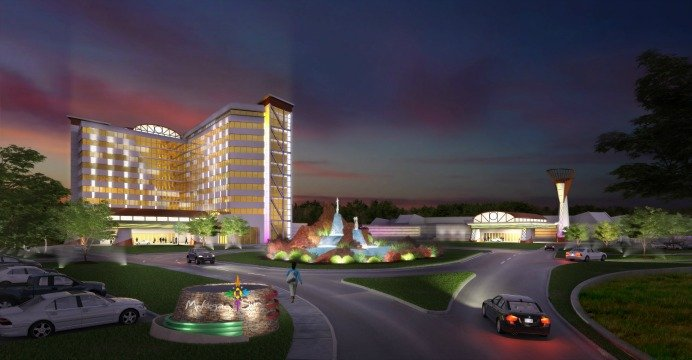 Mohegan Sun's proposed resort and casino in Revere, MA.