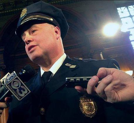 Incoming Springfield police commissioner, Deputy Chief John Barbieri, will answer questions from the public during a presentation Monday night.