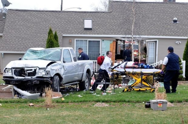 The driver was taken to Baystate Medical Center where he is expected to be okay. (MassLive)