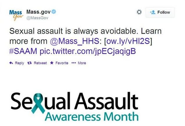 This tweet was sent out by Mass.gov Wednesday night.