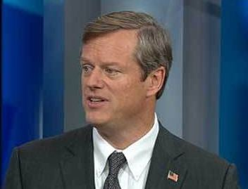 Republican candidate for governor Charlie Baker.