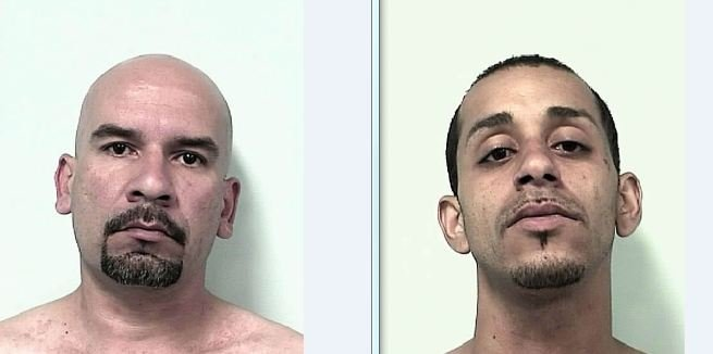 Mug shots of Ramon Valle, 35 (left) and Leroy Machuca, 28.