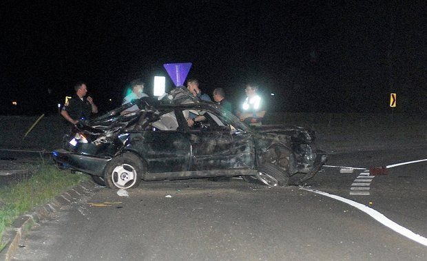 This Saab send an rolled numerous times while on Route 57 in Agawam. (MassLive)