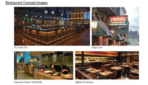 A look at what some of MGM Springfield's restaurants will look like.