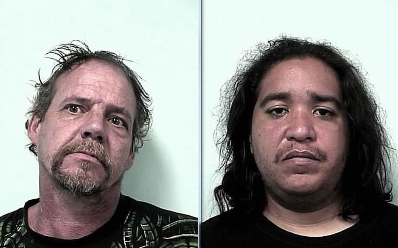 Mug shots of Jeffrey McCarthy, 48, of 176 Savoy Ave., Springfield, and Raymond Ocasio, 24, of 23 Putnam Circle, Springfield.
