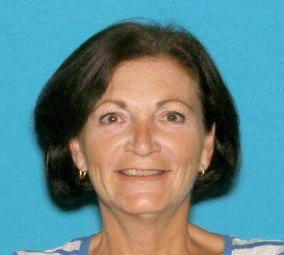 A former mug shot of 58-year-old Linda Nadeau.