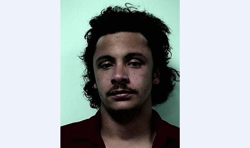 Mug shot of 20-year-old Termayne Lloyd, of 16 Joy St., Ludlow.