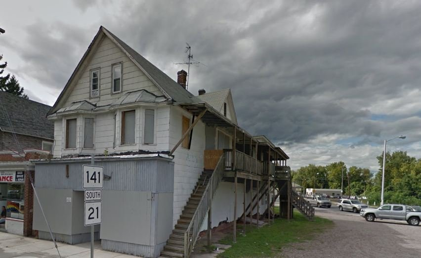 The building at 10 Parker St. in Indian Orchard will be demolished for about $78,000.