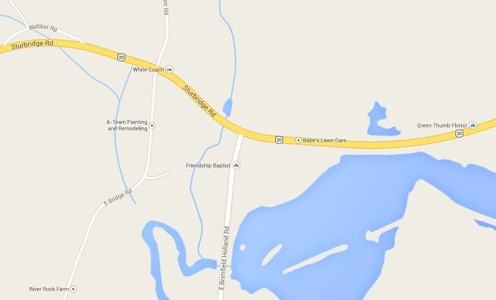 The incident happened just after 5 p.m. on Route 20 when two Honda Civics collided near East Brimfield Holland Road.