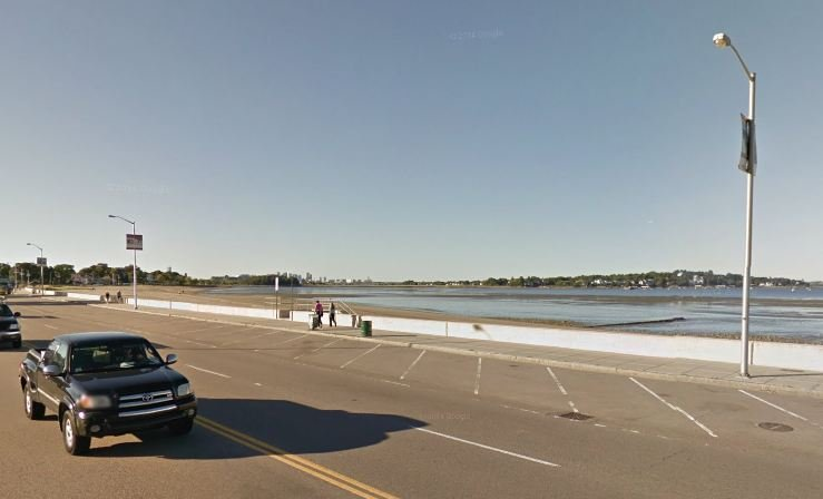 Wollaston Beach in Quincy, MA.
