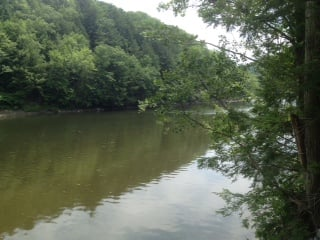 The Deerfield River.