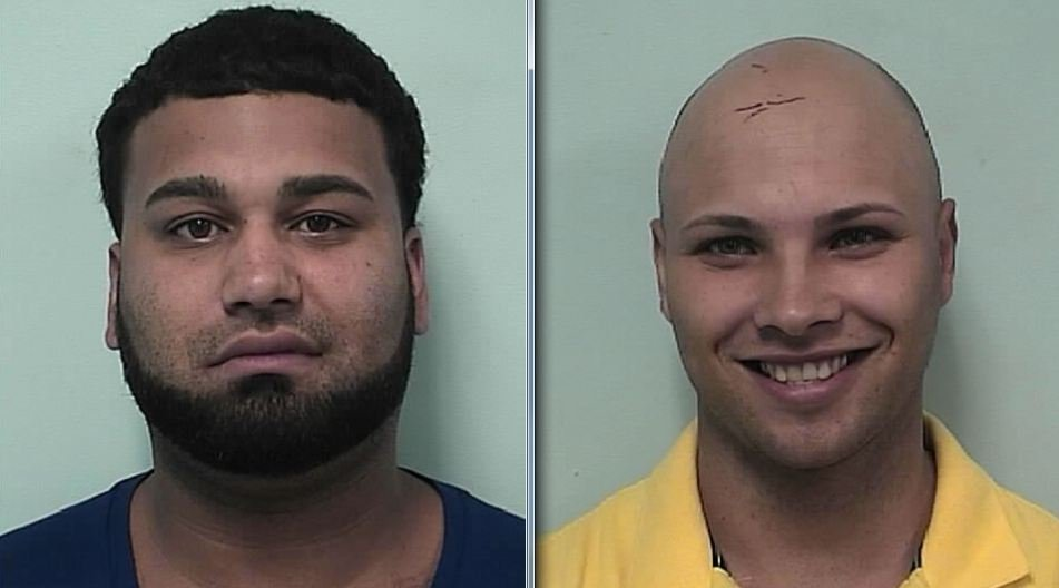 Mug shots of Jamie Lopez, 29, of 55 Rohr St., Rochester, NY, and Jose Figueroa, of 171 Breckwood Blvd. Springfield. (Springfield Police Department)