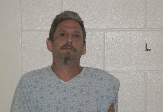 Mug shot of James Walter Ainsworth, 45, of Springfield. (Easthampton Police Department)